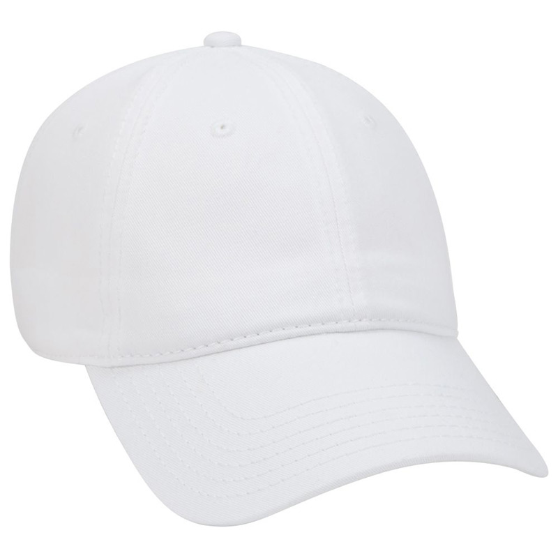 Superior Garment Washed Cn Twill Low Profile Style Caps