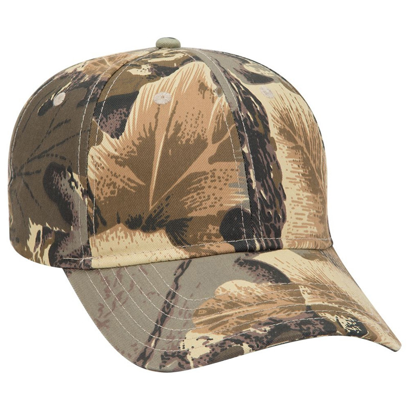 Otto Camouflage Cotton Twill Low Profile Style Caps