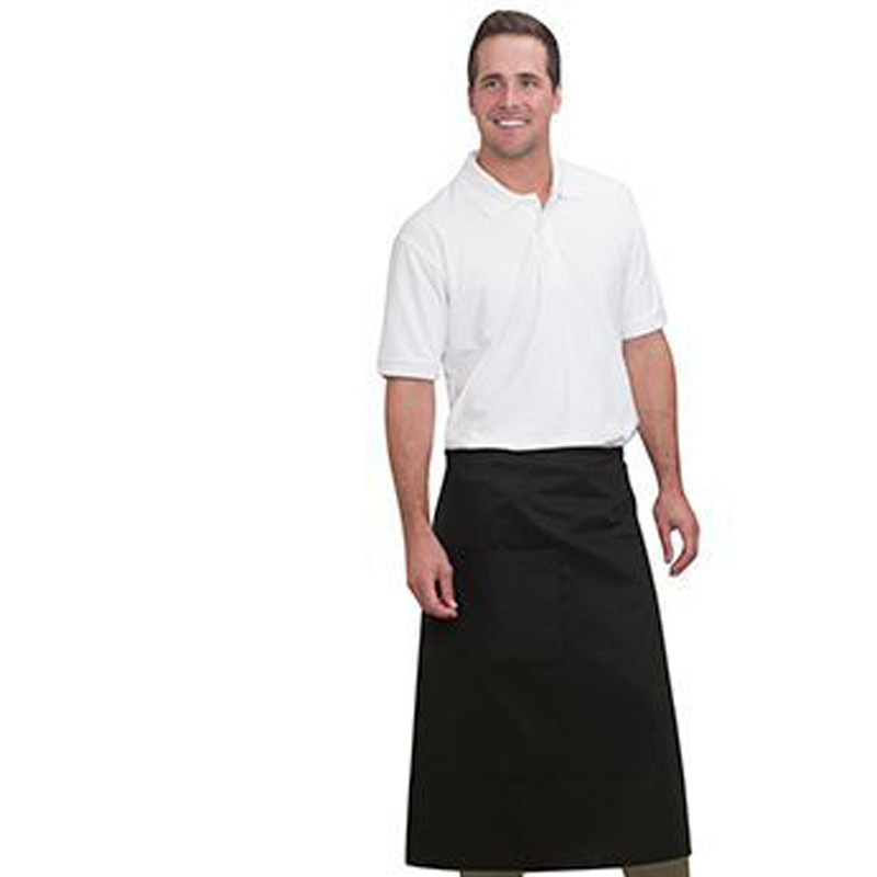 Otto 7.5 Oz. One Pocket Full Length Bistro Aprons