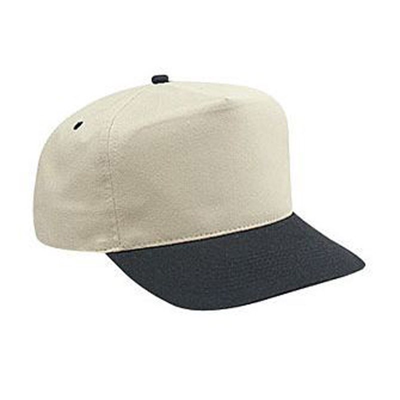 Otto Brushed Cotton Twill High Crown Golf Style Caps