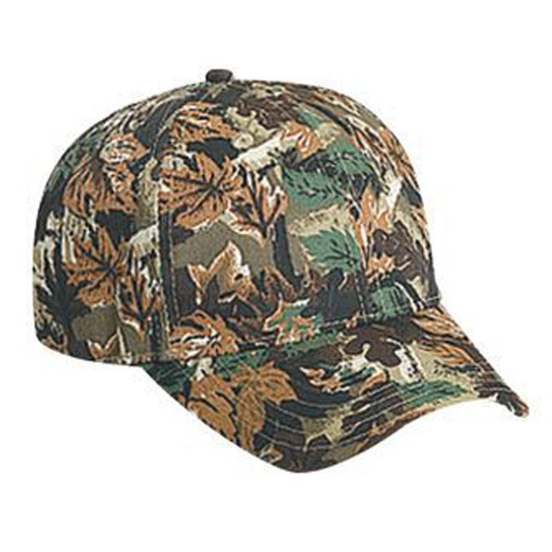 Otto Youth Camouflage Cotton Twill Low Profile Style Caps
