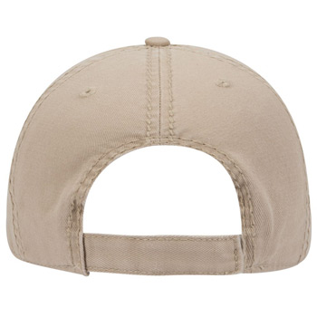 Otto Distressed Superior Garment Washed Cotton Twill Low Profile Style Caps