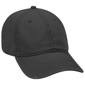 Otto Superior Garment Washed Cotton Twill Distressed Visor Low Profile Style Caps