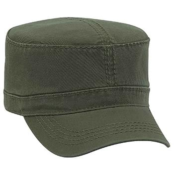 Otto Superior Garment Washed Cotton Twill W/ Heavy Stitching Military Style Caps