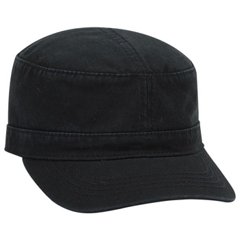Otto Superior Garment Washed Cotton Twill Military Style Caps