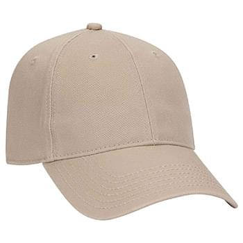 OTTO Garment Washed Stretchable Superior Cotton Twill OTTO FLEX Six Panel Low Profile Baseball Cap