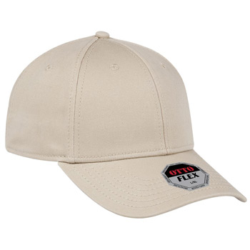 OTTO OTTO FLEX Six Panel Low Profile Stretchable Superior Cotton Twill Baseball Cap