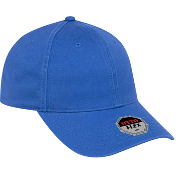 OTTO OTTO FLEX Six Panel Low Profile Garment Washed Stretchable Superior Cotton Twill Cap