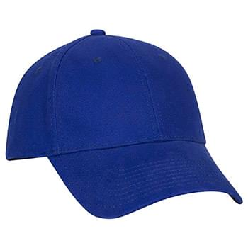 OTTO Brushed Stretchable Cotton Twill OTTO FLEX Six Panel Low Profile Baseball Cap