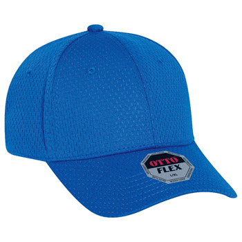OTTO Otto Flex Stretchable Polyester Pro Mesh Low Profile Baseball Cap (S/M) (L/XL)