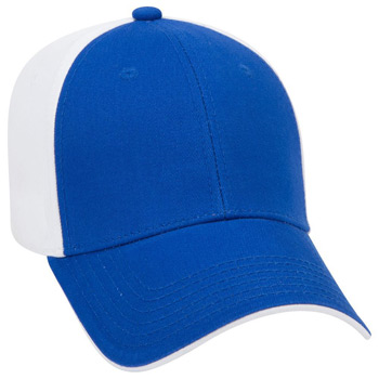 Otto Ultra Soft Superior Brushed Cotton Twill Flipped Edge Visor Low Profile Style Caps