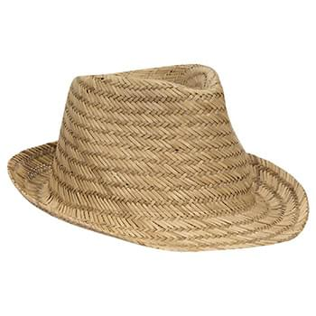 OTTO Natural Straw Fedora