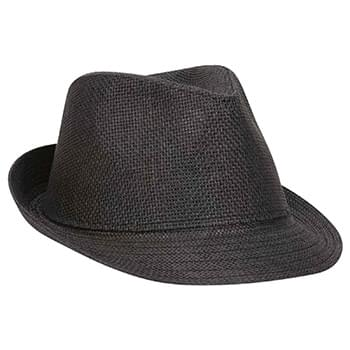 OTTO Twisted Toyo Straw Fedora