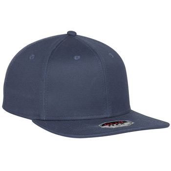 OTTO OTTO FLEX Six Panel Pro Style Stretchable Superior Cotton Twill Square Flat Visor Baseball Cap