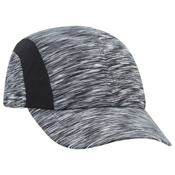 OTTO Six Panel Polyester Jersey Knit Running Cap