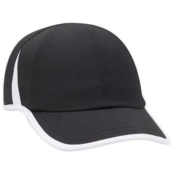 OTTO 6 Panel Low Profile Cool Comfort Performance Stretchable Knit Running Cap