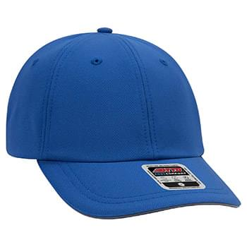 OTTO 6 Panel Low Profile UPF 50+ Cool Comfort Performance Stretchable Knit Running Cap