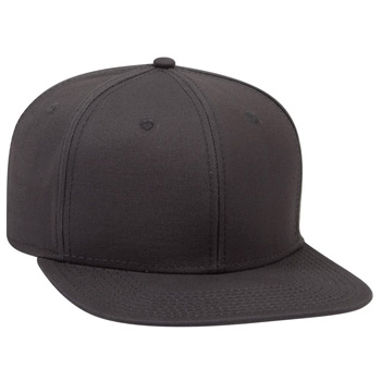 "OTTO Superior Cotton Twill Square Flat Visor OTTO SNAP"" Six Panel Pro Style Snapback Hat"""