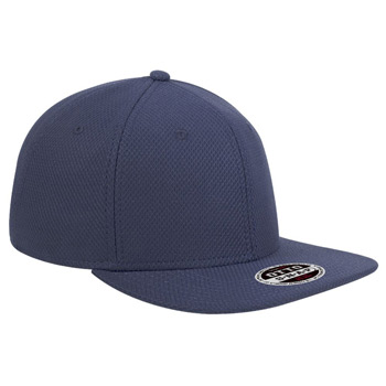 "OTTO Cool Comfort Polyester Square Flat Visor OTTO SNAP"" Six Panel Pro Style Snapback Hat"""