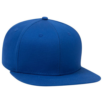 "OTTO Cotton Twill Square Flat Visor OTTO SNAP"" Six Panel Pro Style Snapback Hat"""
