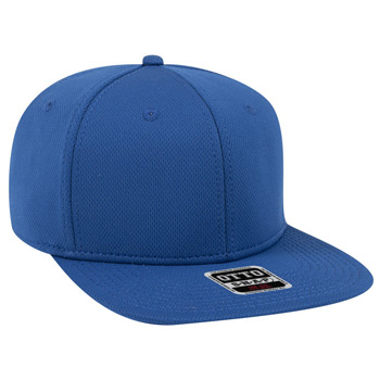 "OTTO Cool Comfort Polyester Cool Mesh Square Flat Visor OTTO SNAP"" Six Panel Pro Style Snapback Hat"""
