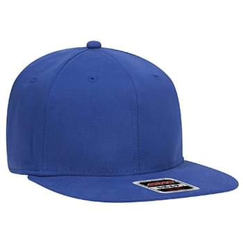 "OTTO Ultra Fine Brushed Stretchable Superior Cotton Twill Square Flat Visor OTTO SNAP"" Six Panel Pro Style Snapback Hat"""