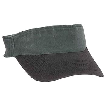 "OTTO Garment Washed Pigment Dyed Stretchable Cotton Twill OTTO FLEX"" Sun Visor"""