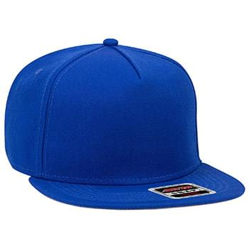 "OTTO Wool Blend Twill Square Flat Visor OTTO SNAP"" Five Panel Pro Style Snapback Hat"""
