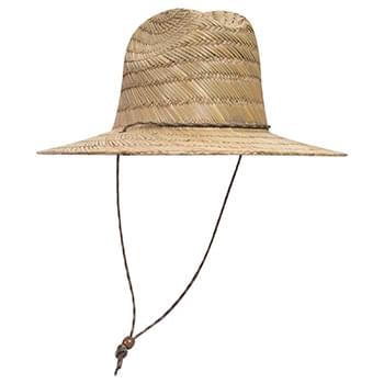 OTTO Natural Straw Lifeguard Hat