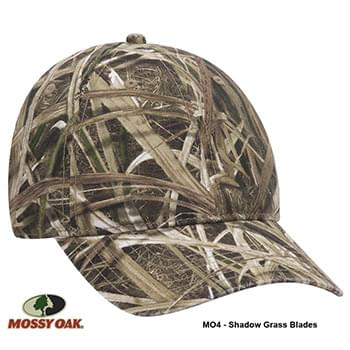 OTTO CAP Mossy Oak Camouflage Garment Washed Superior Cotton Twill 6 Panel Low Profile Baseball Cap
