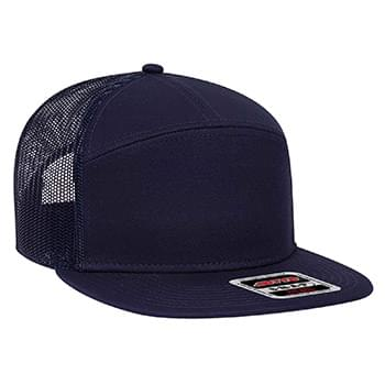 OTTO CAP 7 Panel Mesh Back Trucker Snapback Hat