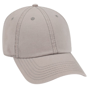 OTTO Garment Washed Cotton Canvas Six Panel Low Profile Dad Hat