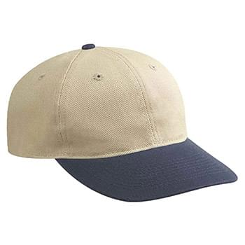 Otto Washed Bull Denim Low Profile Style Caps