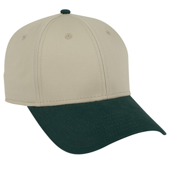 OTTO Superior Combed Cotton Twill Six Panel Low Profile Baseball Cap