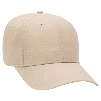 OTTO Cotton Ripstop 6 Panel Low Profile Baseball Cap