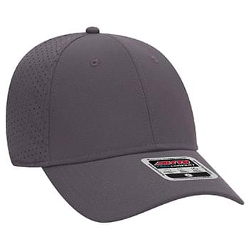 OTTO UPF 50+ Cool Comfort Stretchable Knit Perforated Back 6 Panel Low Profile Baseball Cap
