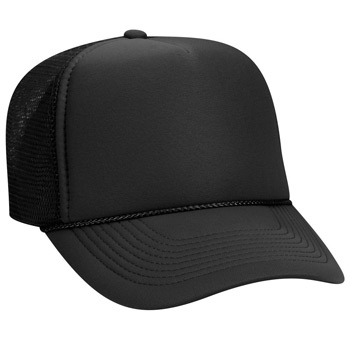 Otto Polyester Foam Front Five Panel Pro Style Mesh Back Caps fb0f91aceee6