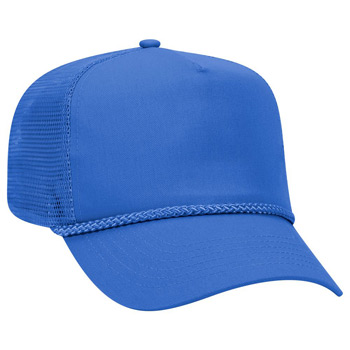 Otto Cotton Twill High Crown Golf Style Mesh Back Caps