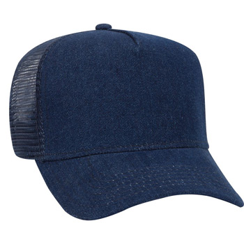 Otto Denim Golf Style Mesh Back Caps