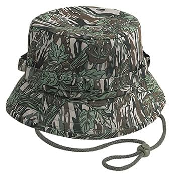 OTTO Camouflage Cotton Twill Bucket Hat