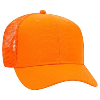 Otto Neon Superior Polyester Canvas Pro Style Mesh Back Caps