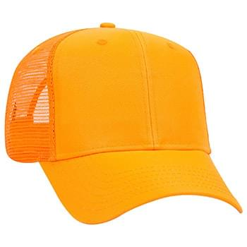Otto Neon Deluxe Polyester Twill Pro Style Mesh Back Caps