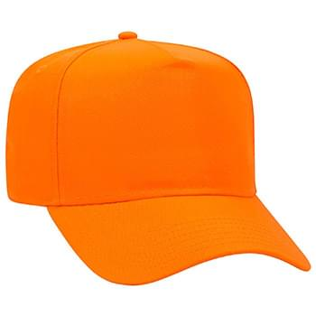 Otto Neon Polyester Twill Low Crown Golf Style Caps