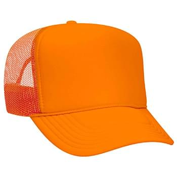 Otto Neon Polyester Foam Front Golf Style Mesh Back Caps