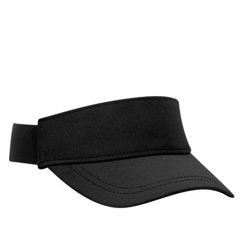 OTTO UPF 50+ Cool Comfort Performance Stretchable Knit Perforated Back 6 Panel Low Profile Sun Visor