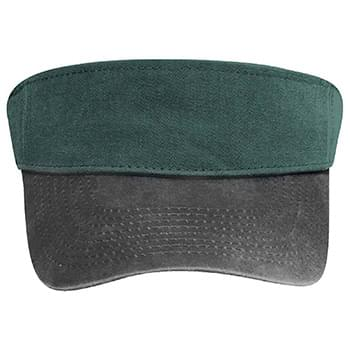 OTTO Garment Washed Pigment Dyed Cotton Twill Sun Visor