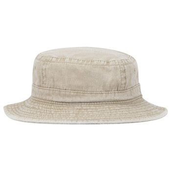 OTTO Garment Washed Pigment Dyed Cotton Twill Youth Bucket Hat