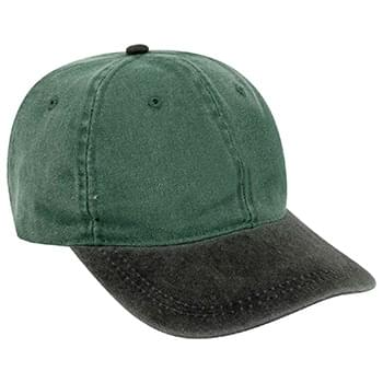 Otto Youth Washed Pigment Dyed Cotton Twill Low Profile Style Caps