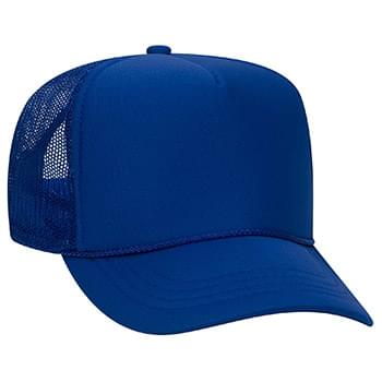 Otto Youth Polyester Foam High Crown Golf Style Mesh Back Caps