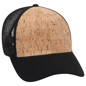 OTTO 6 Panel Cork Mesh Back Cap